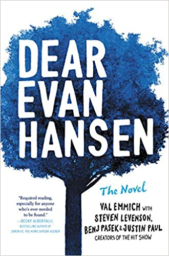 Image result for dear evan hansen book