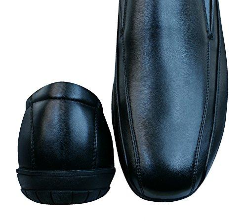 Walking Plantilla Piel Chaussures Hommes-BLACK-42 gIU9TfYDGQ