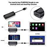 PUMPKIN Android 9.0 Double Din Car Stereo with
