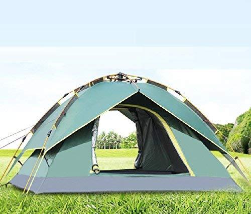GZZ Guo Outdoor Produkte Outdoor 3-4 Personen Zelt, Aluminiumlegierung Pole, Polyester TAFT Atmungsaktive Plane, Stark und Sicher zu Verwenden, Camping, Wandern, Tragbare Zelte