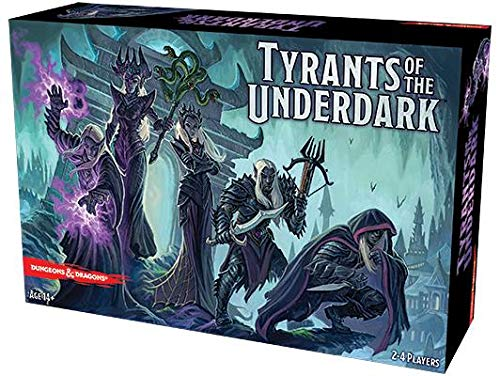 Dungeons & Dragons - Tyrants of the Underdark Board - Dragons And Knight Dungeons