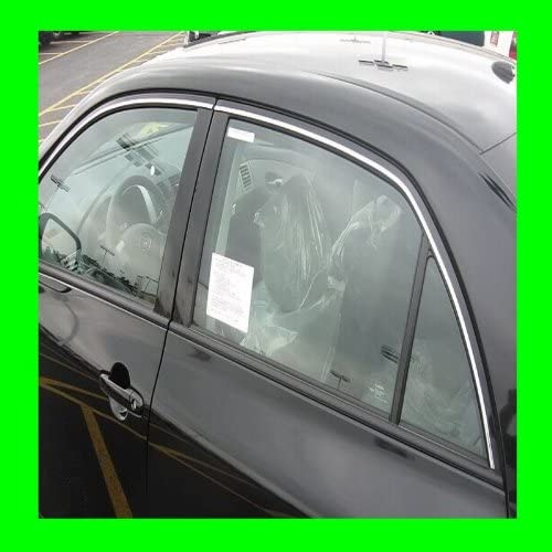 312 Motoring fits 2001-2006 Acura TL Chrome Window Trim MOLDINGS 2PC 2002 2003 2004 2005 01 02 03 04 05 06