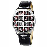 LCW089-3 New Marilyn Monroe Stainless Wristwatch Wrist Watch