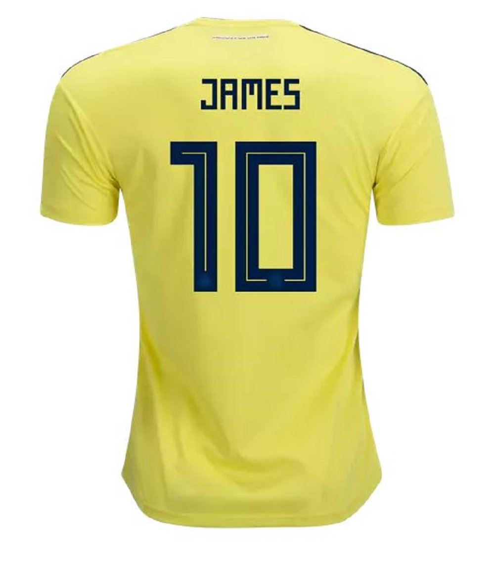 Colombia Home Youth James Jersey 2018/2019 (Official Printing) (YL-12/14)