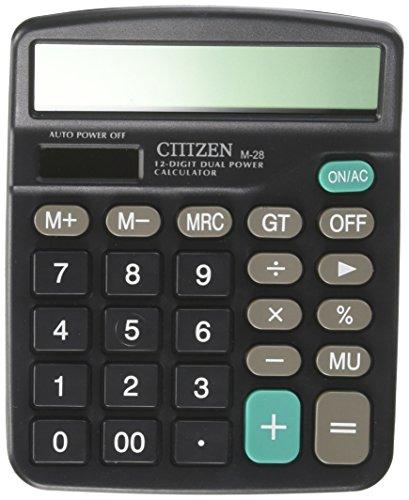 OfficeLead Calculator, Telaero Standard Function Desktop Calculator M-28