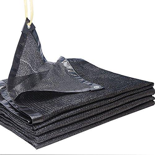 ステンレス岩バッジPENGFEI 黒 シェードネット オーニング 吸熱 防塵の 多肉植物 植物 日焼け止め バルコニー パティオ、 厚さ0.3mm、 -250g / m2、 16サイズのオプション ( サイズ さいず : 4x6m )