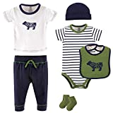 Best Yoga Sprout Baby Socks - Yoga Sprout Baby 6 Piece Layette Set, Bear Review