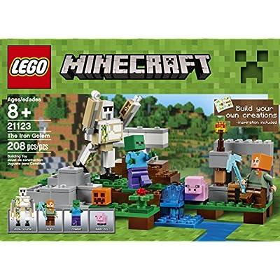 LEGO Minecraft The Iron Golem 21123: Toys & Games