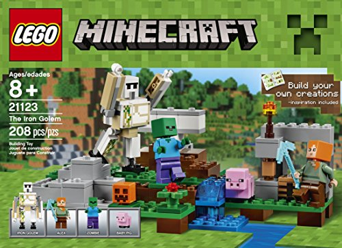 Review LEGO Minecraft The Iron