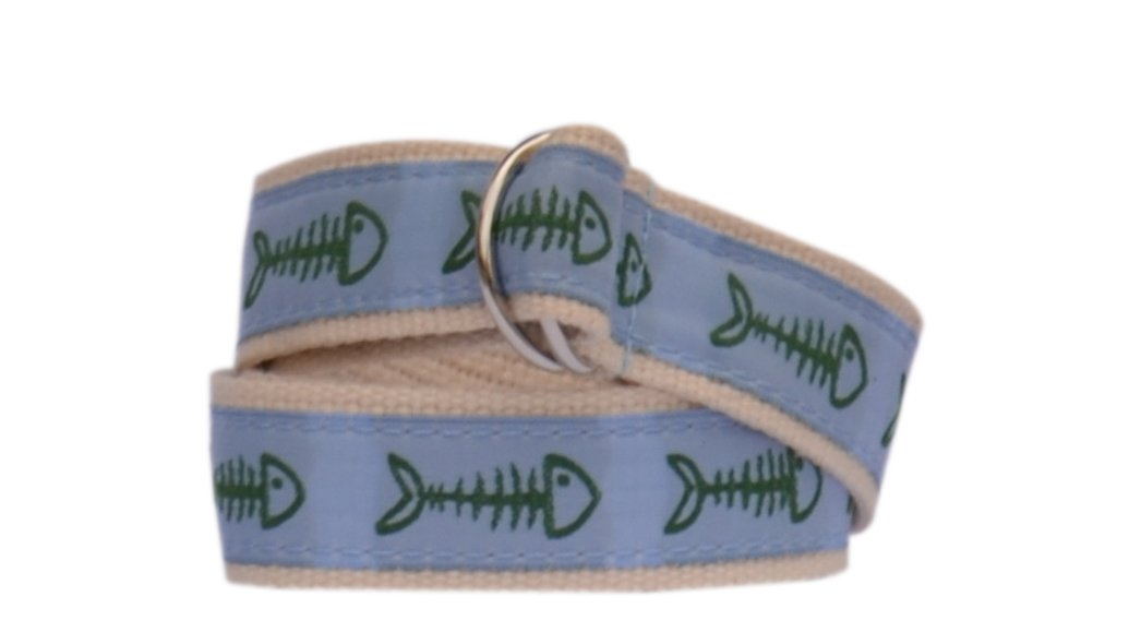 Bean Belts Boy's Preppy Bonefish Belt (Medium (2T-4T))