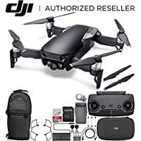 DJI Mavic Air Drone Quadcopter (Onyx Black) Backpack Starters Bundle