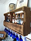 Wine Rack, Rustic, Primitive, Handmade From New Wood