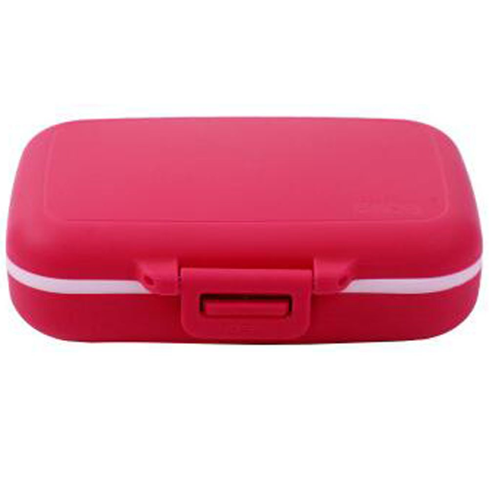 Kylin Express Portable Travel First-Aid Kit Medicine Storage Box Pill Sorter Container Rose