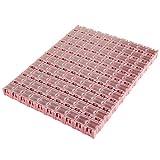 100PCS Electronic Component Parts Case Patch Laboratory Storage Box SMT SMD - Pink