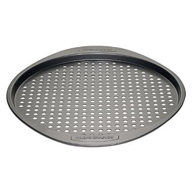 Farberware Nonstick Bakeware 13-Inch Round Pizza Crisper, Gray