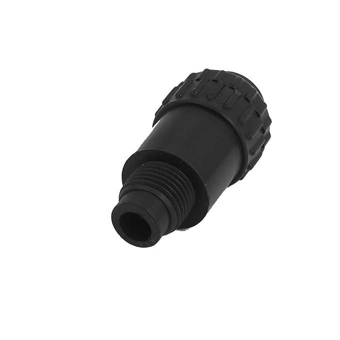 eDealMax 16 mm Diámetro de la rosca del conector de aceite del compresor de aire repuesto Herrajes Negro - - Amazon.com