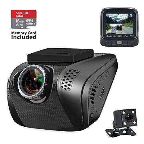 Dash Cam, Acumen 1080P Car Camera FHD Dr