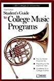 Student's Guide to College Music Programs, , 0979566908