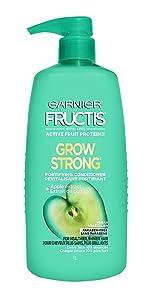 Garnier Fructis Grow Strong Conditioner, 33.8 fl. oz.