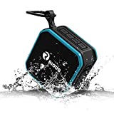 RIODO IPX7 Speakers Waterproof Bluetooth, Portable Wireless Speaker with Built-in Mic, 12 Hours Playtime for Shower Swimming Pool Beach Kitchen Outdoor