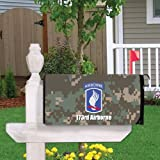 Military 173rd Airborne Magnetic Mailbox Cover