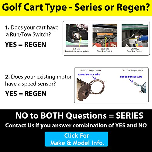 golf cart motors club car motors regen 170 506 0002 23 mph rh amazon com