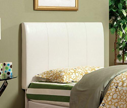Furniture of America Towne Modern Leatherette Headboard
