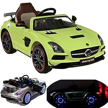 B-Ware Kinder Elektro Auto Mercedes SLS AMG Kinderfahrzeug Elektrofahrzeug Batteriebetriebene Fahrzeuge