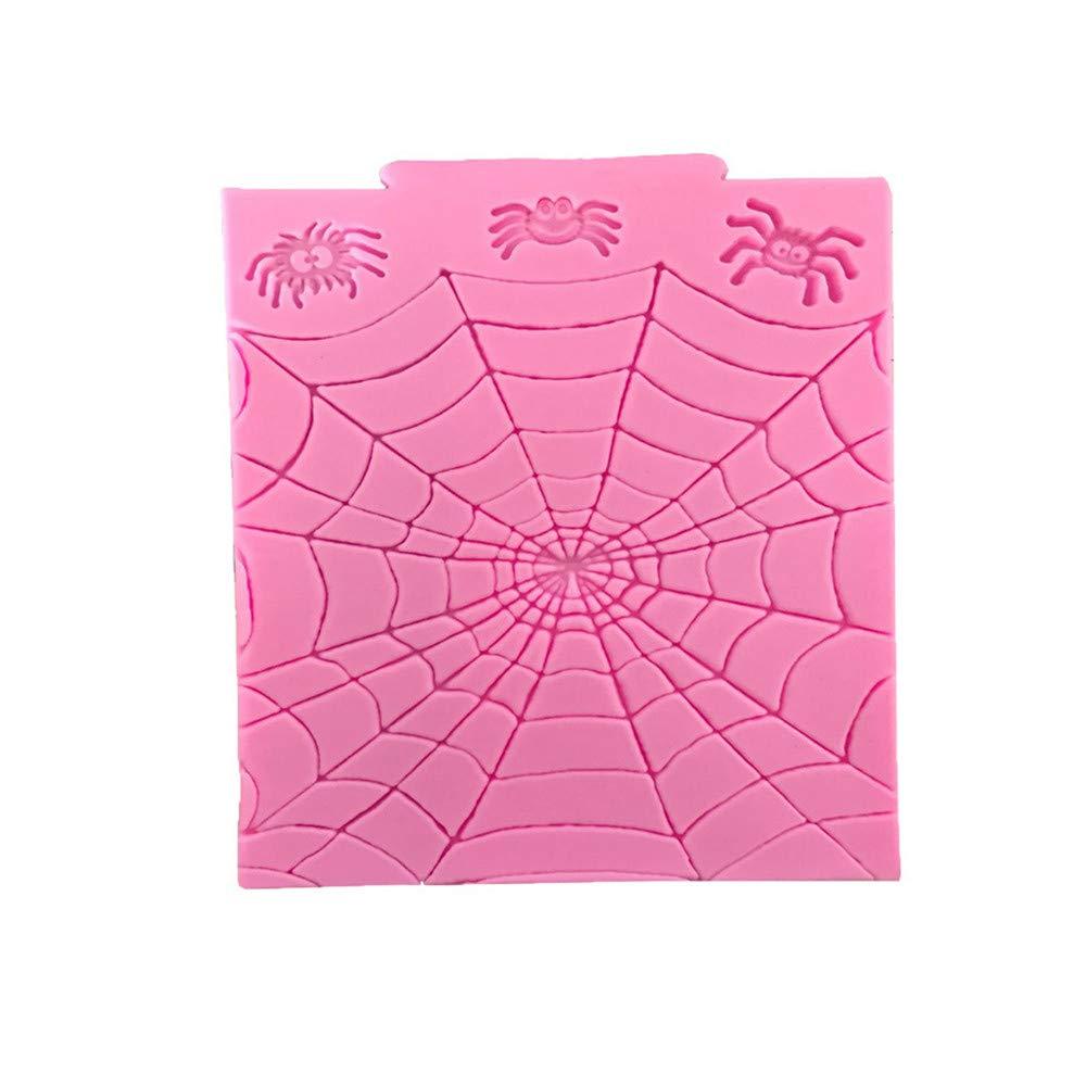 Ogquaton Herramienta de Decoraci/ón de Pasteles de Silicona Fondant Mold de Silicona de primera calidad para Halloween