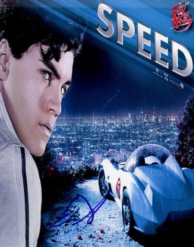 Emile Hirsch Autographed Signed Speed Racer Photo AFTAL