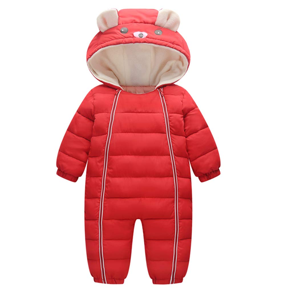Baby Snowsuit Hooded Overalls Winter Romper Cotton Onesies Winterjacket Outfits 18-24 Months Shenzhen Windy Trading Co. Ltd