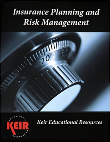 Download online Insurance Planning and Risk Management Textbook 2013 PDF, azw (Kindle)