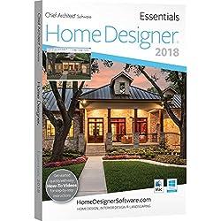 Chief Architect Home Designer Essentials 2018 - DVD/Key Card