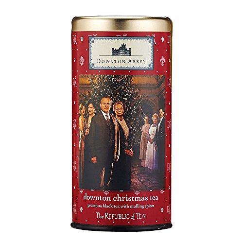 Downton Abbey Christmas Black Tea, 36 Tea Bags, Premium Cinnamon Holiday Tea ()