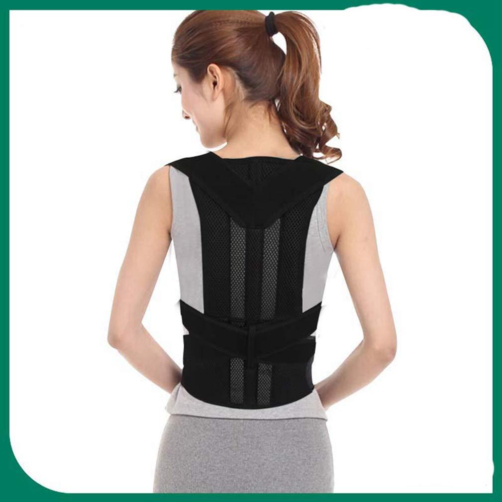 091ba98cab Amazon.com  Posture Corrector Magnetic Corset Back Brace Back Shoulder Support  Posture Correction Belt for Men Women Students S-XXL  Health   Personal Care