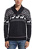Product review for Daisysboutique Men's Holiday Reindeer Snowman Santa Snowflakes Sweater