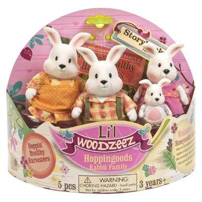 Li'l Woodzeez Hoppingoods Rabbit Family