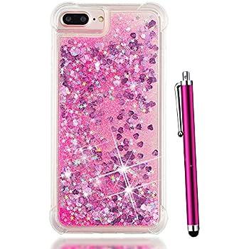 436abcd8848 Amazon.com: iPhone 7 Plus Case Glitter, iPhone 8 Plus Case for Women ...