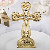 30 Magnificent Shiny Gold Cross Statues