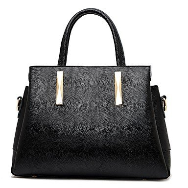 Women Bags All Season Cowhide Shoulder Bag Zipper for Wedding Event/Party Casual Formal Office & Career Wine Light Gray Blushing Pink,Light Gray by LTXNSB (Image #3)