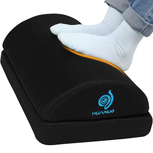 Adjustable Foot Rest - Under Desk Footrest with 2 Optional Covers...