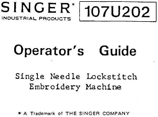 Descargar Pdf-File Singer 107U202 Manual de usuario máquina de ...