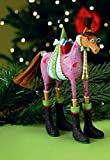 Patience Brewster Marcel Horse Christmas Ornament 31095