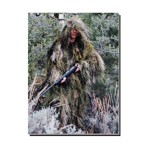 Ultra-light Ghillie Suit Jacket WoodLand Size Extra Large - - Ultralight Jacket Ghillie