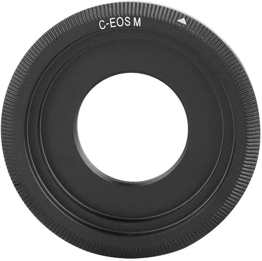Acouto Camera C Mount Adapter Ring Mirrorless Cameras Adapter Dual Purpose for C-EOSM