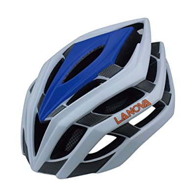Skateboard Bicycle Helmet Road Bike Bicycle One-Piece Male and Female Models Riding Helmet-White-L(58-61cm) : Sports & Outdoors