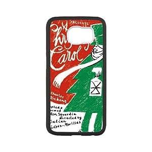 Samsung Galaxy S6 Phone Case White Christmas Carol MG665646