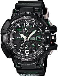 G-Shock GWA-1100-1A3 G-Aviation Series Mens Stylish Watch - Black / One Size