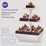 Wilton 307-108 Snack Server 3-Tower Tiered Stand for Cakes