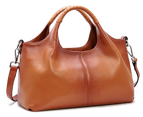 Leather Genuine Sorrel Handbag Bag Purse Iswee Bag Tote Shoulder Leather For Women Small xHwgXR
